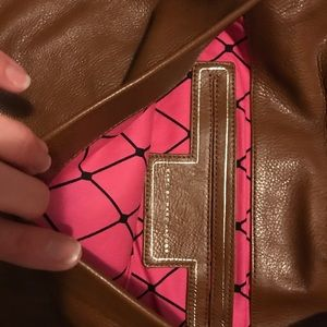 Marc Jacobs Bags - Marc Jacobs brown locket clutch